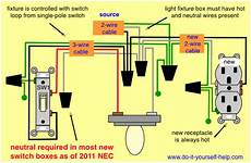 wiring diagram for adding an outlet from an existing light fixture in 2019 house wiring add