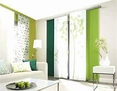 moderne schiebegardinen scheibengardinen wohnzimmer neu