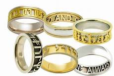 custom engraved wedding bands wedding and bridal inspiration