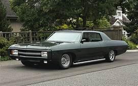1969 Chevrolet Caprice Custom 2 Door Coupe 402 Big Block