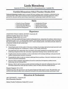 elementary teacher resume keywords elementary school teacher resume template monster com