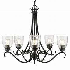 progress lighting calven collection 5 light forged black chandelier p4539 80 the home depot