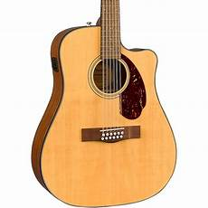 fender cd 140sce acoustic electric guitar fender cd 140sce 12 string dreadnought acoustic electric guitar music123