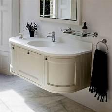 Bathroom Ideas Vanity Units by Burlington 134 Curved Wall Hung Vanity Unit Uk Bathrooms