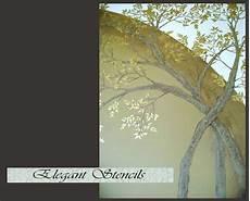 Stencil Wall Stencil Tree Stencil Raised Plaster Arched