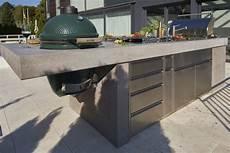 chromstahl trifft beton outdoor k 252 chen outdoor k 252 che