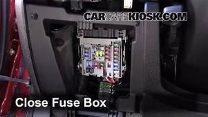 Interior Fuse Box Location 2013 2015 Chevrolet Malibu
