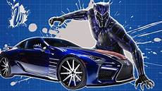 west coast customs king t challa s lexus lc 500 from marvel s black panther