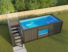 Container Als Pool - shipping container pools make swimming trendy