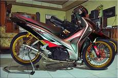 Honda Modifikasi by Foto Modifikasi Honda Supra X 125 Terbaru Moto Plus Plus