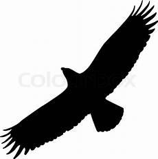 eagle silhouette stock vector colourbox