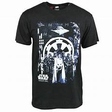 wars rogue one mens imperial black t shirt buy