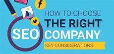 how to choose the right seo company key considerations