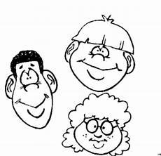 Malvorlagen Gesichter Kostenlos Drei Gesichter 2 Ausmalbild Malvorlage Nordisch