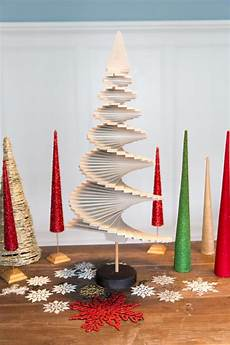 Basteln Weihnachten Holz - how to make a wooden tree how tos diy