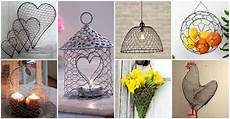 20 diy chicken wire crafts that will fascinate you