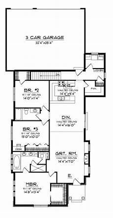 rear entry house plans rear side garage house plans design entry with ranch