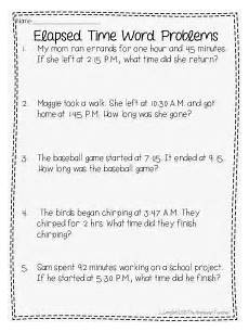 free printable worksheets time word problems 3398 elapsed time activities and a free with images time worksheets math time elapsed