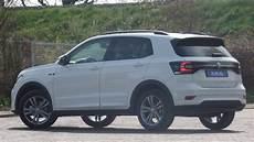 volkswagen new t cross r line 2019 white 17 inch