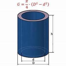 hohlzylinder fl 228 che volumen beim hohlzylinder berechnen