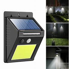 48 led waterproof outdoor wall led solar light pir