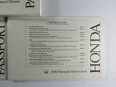 service repair manual free download 2000 honda passport free book repair manuals 2000 honda passport owners manual book ebay