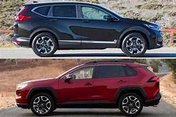 2020 Toyota Rav4 Vs Honda Cr V Review  New Cars