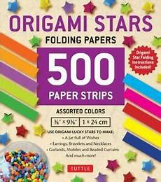 Download Now Origami Paper 500 Sheets Rainbow Colors Origami Stars 500 Folding Strips By Tuttle Publishing