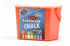 Amazon Com Chalk City Sidewalk Regal Games Chalk City 20 Piece Jumbo Washable Sidewalk