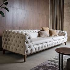 sofa design italien luxury italian designer button upholstered sofa