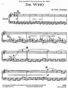 16 best dr who sheet music images on pinterest piano sheet music sheet music and the doctor