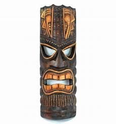 Tiki Mask Maori Wood Cheap Deco Wall Tiki Craft