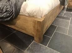 Bett Altholz Holzbett Breite 195 Cm