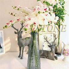 butterfly home decor artificial butterfly orchid silk flower phalaenopsis