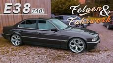 Bmw E38 740i Felgen Fahrwerk E36 Taz