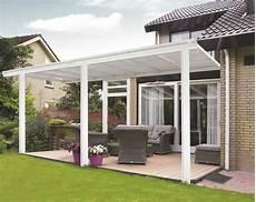 tettoia in pvc tettoia per veranda da giardino in bianco 4 95m x 3m