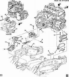 2011 chevy equinox engine diagram 20840181 chevrolet mount transmission mounting mount trans frt wholesale gm parts