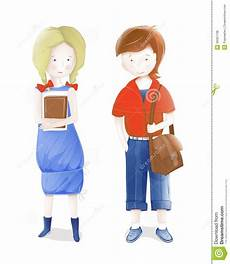 students a and a going to school royalty free stock photos image 26067138