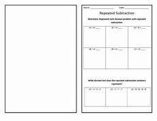 division as repeated subtraction worksheets 4th grade 6694 repeated subtraction division practice 4th grade math interactive notebooks math