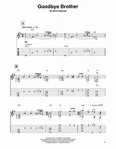 goodbye brother from game of thrones sheet music ramin