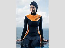 15  Fashionable Muslim Swimwear (Burkini) Collection for Women