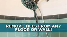 How To Remove A Tile From A Floor Or Wall