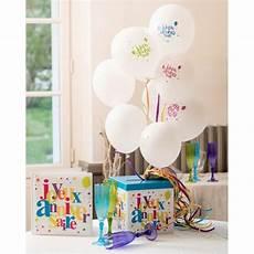 Ballons Anniversaire 10 Ans 23 Cm Les 8 Ballons De Baudruche