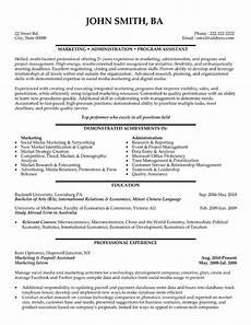top marketing resume templates sles
