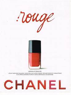 maquillage simple 1995 publicite advertising 074 1995 chanel cosm 233 tiques vernis 224 ongles vernis 224 ongles