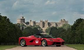 Ferrari To Mark 70th Anniversary With UK Dealer Tour  Car
