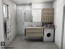Waschmaschine Im Bad - kleines raumwunder badezimmer