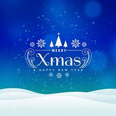 merry christmas winter landscape design with snow download free vector art stock graphics