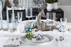 weihnachtstisch festlich dekorieren festive table decor ideas decorating tips
