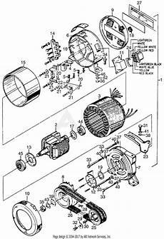 honda e1500k1 a generator jpn vin e1500 1171001 to e1500 1191630 parts diagram for alternator